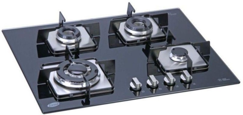 GLEN Steel Automatic Gas Stove(4 Burners)
