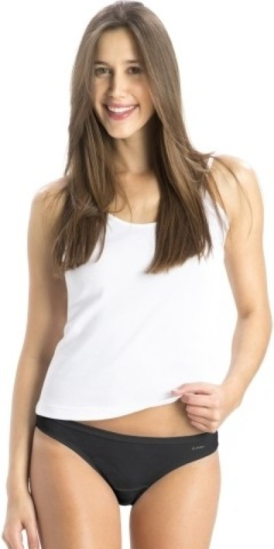 Jockey Womens Bikini White, Black Panty(Pack of 3)