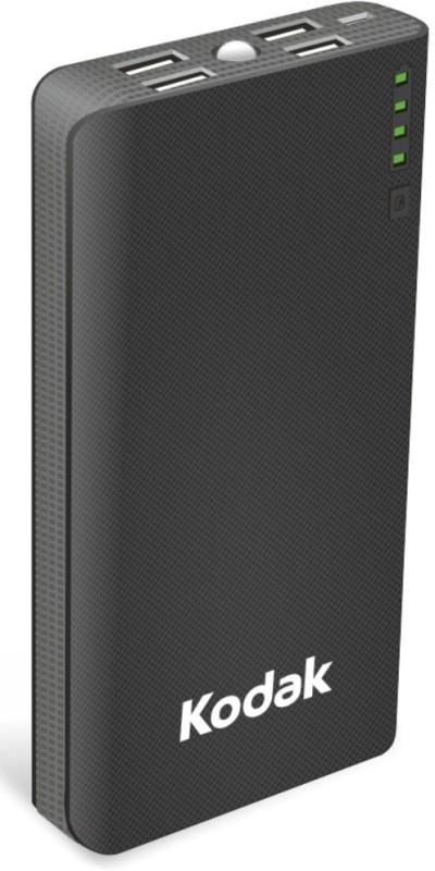 Kodak 15000 mAh Power Bank (PB P03-K/15000mAh)(Black, Lithium-ion)