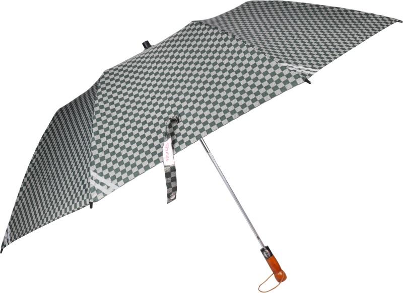 Murano Automatic 2-Fold Umbrella Large Canopy Umbrella(Black)