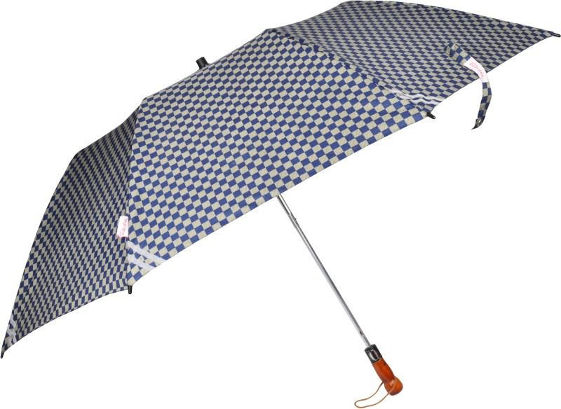 Murano 2-Fold Umbrella Wonderful designs and Rain & Sun Protection Umbrella(Blue)