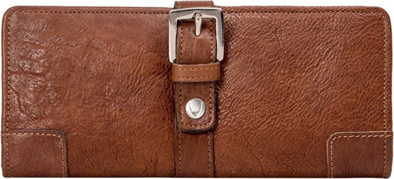 Hidesign Women Tan Genuine Leather Wallet(1 Card Slot)