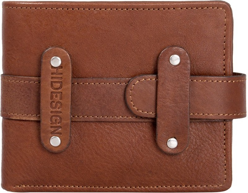Hidesign Women Casual Brown Genuine Leather Wallet(1 Card Slot)