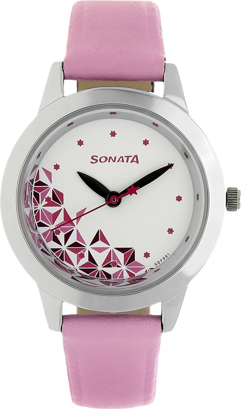 Sonata NK87019SL04 Analog Watch - For Women