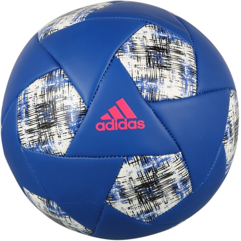 ADIDAS X GLIDER Football - Size: 4(Pack of 1, Blue, White)