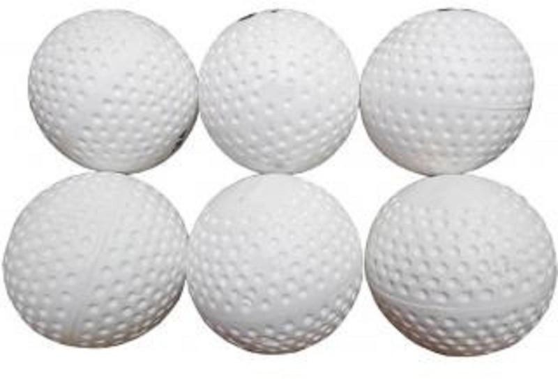 Rmax Hockey Turf Hockey Ball(Pack of 6, White)