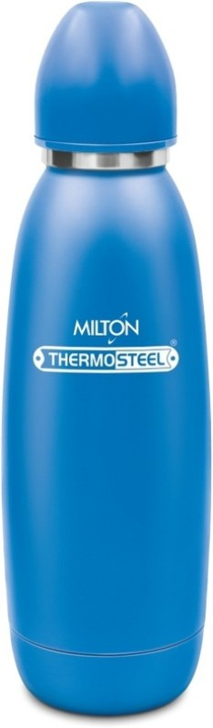 Milton Thermosteel Hot & Cold Advent  Stainless Steel Water Bottle, 750 ml, Blue 750 ml Flask(Pack of 1, Blue)