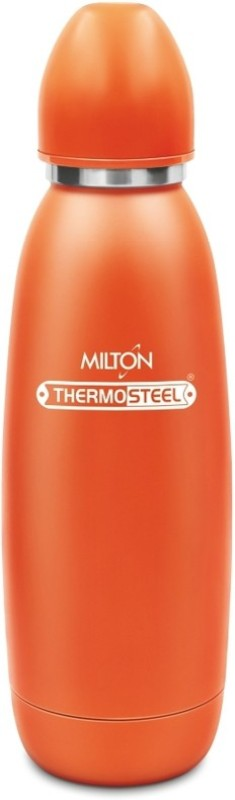 Milton Thermosteel Hot & Cold Advent  Stainless Steel Water Bottle, 750 ml, Orange 750 ml Flask(Pack of 1, Orange)