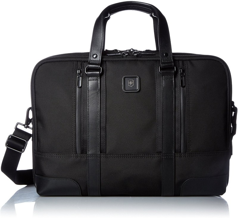 Victorinox Lexicon Professional Lexington 15 Medium Briefcase - For Men & Women(Black)