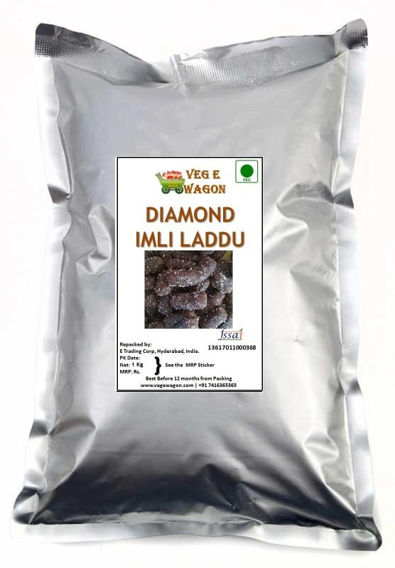 Veg E Wagon Diamond Imli 1000 gm Sweet and Sour Sour Candy(1000 g)