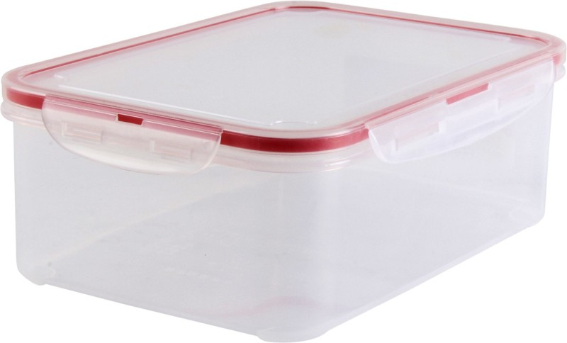 Inomata Lock Airtight food Storage Container - 1.3 L Plastic Grocery Container(Multicolor)