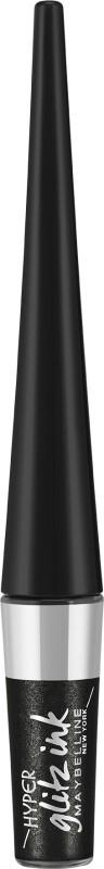 Maybelline Hyper Glitz Ink Eye liner 1.5 g(Black)