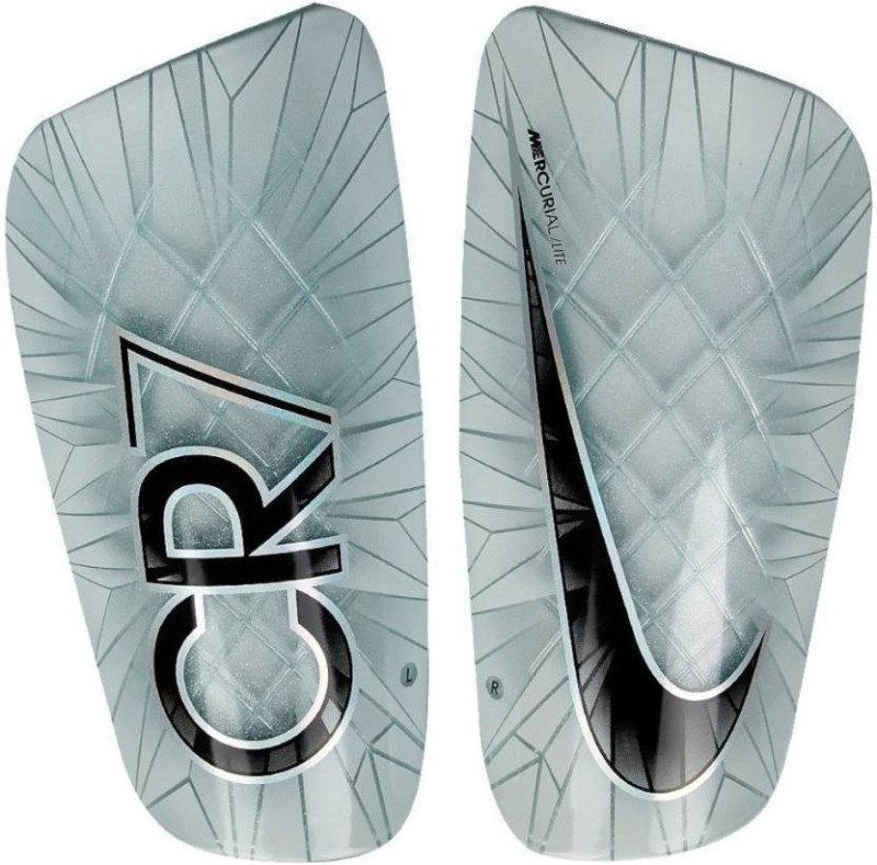 Nike Mercurial Lite CR7 Football Shin Guard with Sleeves(M, Multicolor)