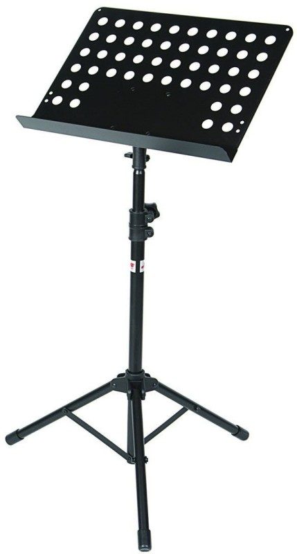 Xtag Foldable Music Book Notation Imported Heavy Duty Microphone Stand(Black)
