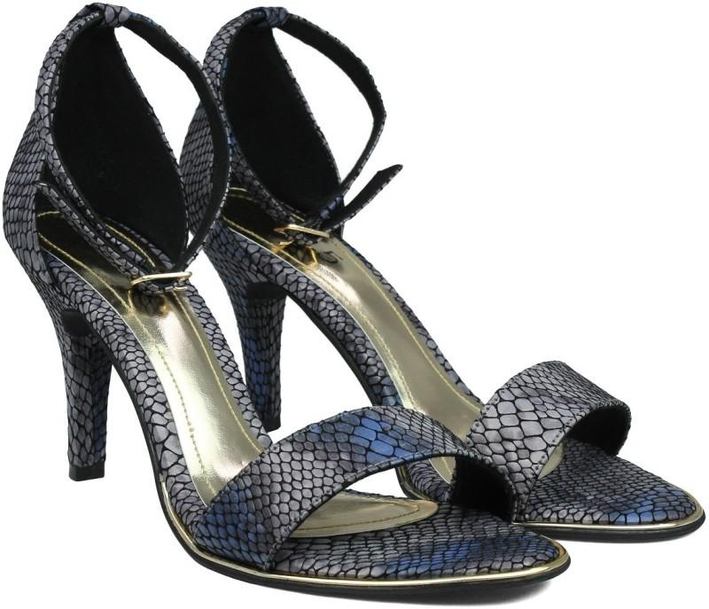 Inc.5 Women BLUE Heels