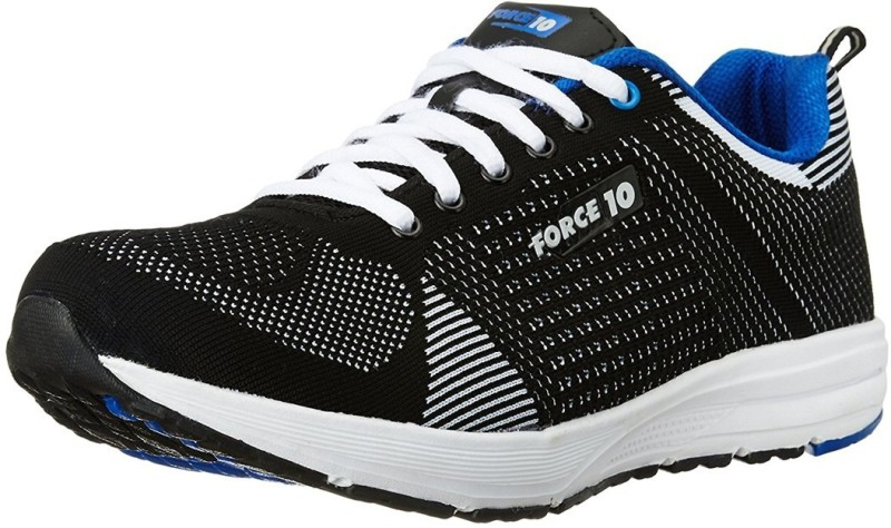 Force 10 By Liberty Running Shoes For Men(Black)
