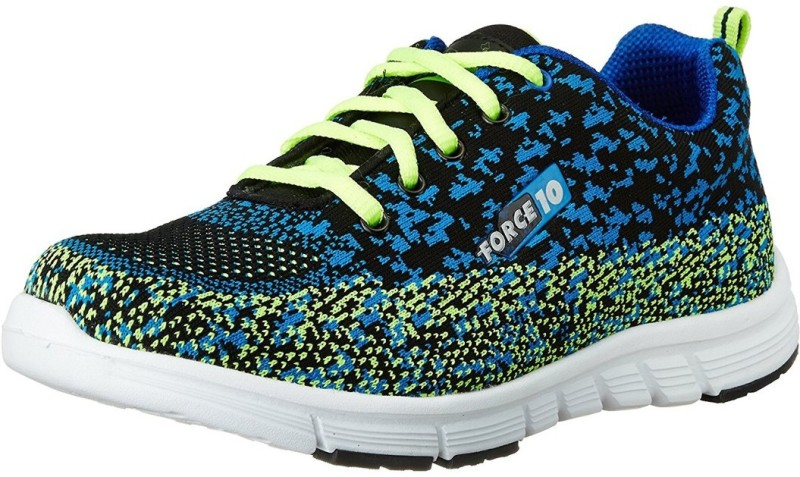 Force 10 By Liberty Running Shoes For Women(Black)