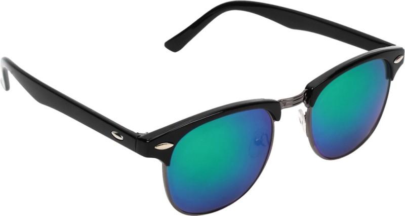Zyaden Clubmaster Sunglasses(Multicolor)