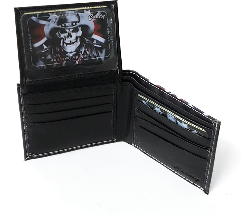 11e Men Multicolor Artificial Leather Wallet(8 Card Slots)
