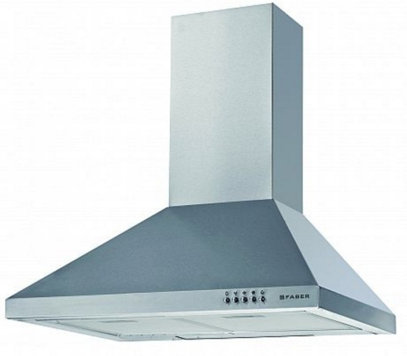 FABER 60 SS LTW Wall Mounted Chimney(Steel 800 CMH)