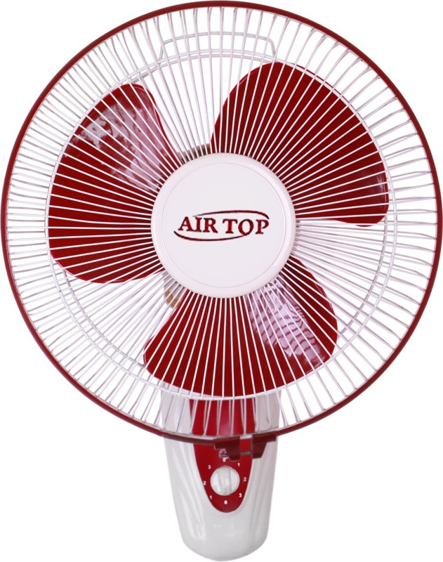 Airtop 16 Wall fan high speed 3 Blade Wall Fan(Ivory cherry, White)