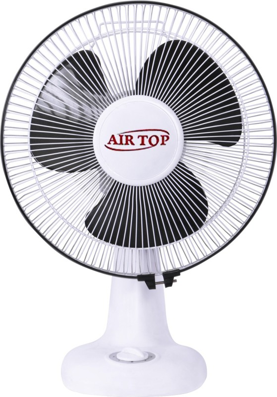 Airtop White 3 Blade Wall Fan(White Black)