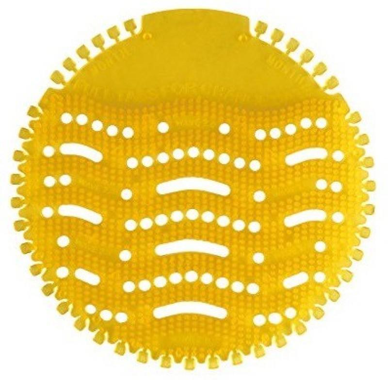 AGROMECH ROUND URINAL DISINFECTOR MAT SCREEN Lemon Mat Toilet Cleaner(1 Wipes)