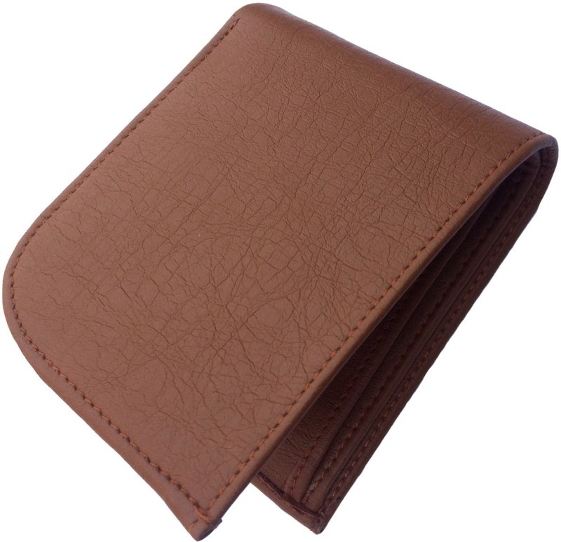 FRIENDS & COMPANY Men Brown Genuine Leather Wallet(8 Card Slots)