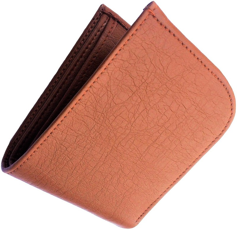 FRIENDS & COMPANY Men Brown Artificial Leather Wallet(8 Card Slots)