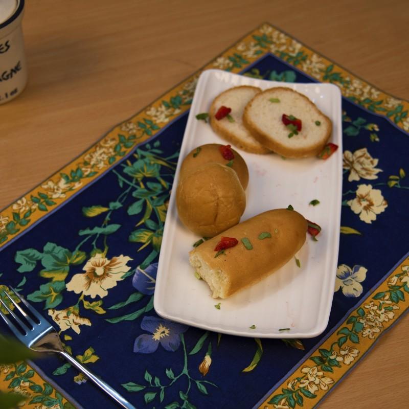Homesake White Fine Porcelain Serving Stripes Platter, White Serving Dish Tray for Chips, Nachos, Pasta Tray