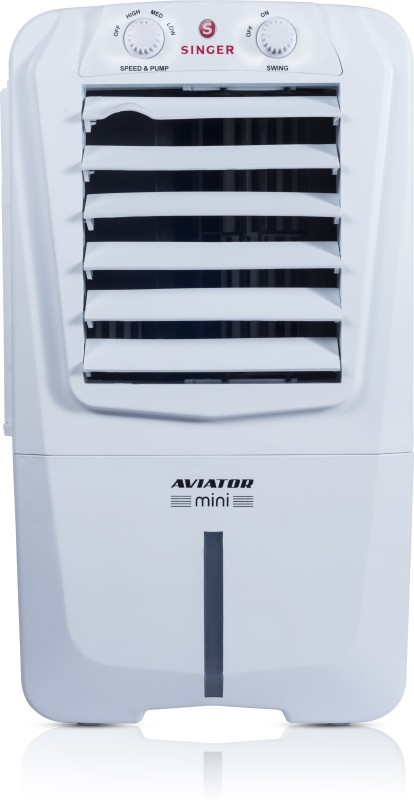 Singer Aviator Mini Personal Air Cooler(White, 10 Litres)