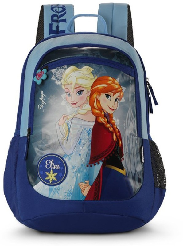 Skybags Sb Frozen Champ 01 Blue 18 L Backpack(Blue)