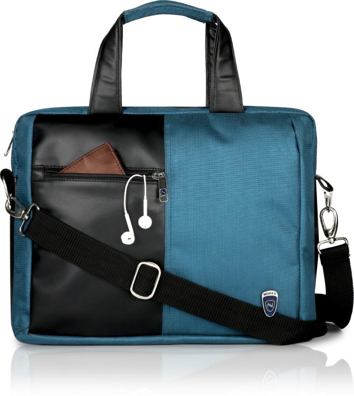 Novex Logic Medium Briefcase - For Men & Women(Turquoise)