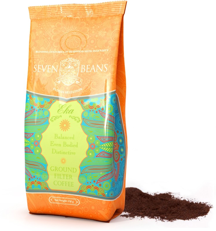 Seven Beans Eka Ground Roast & Ground Coffee(250 g)