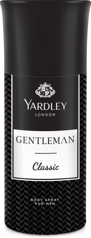 Yardley London Gentleman Classic Body Spray - For Men(150 ml)
