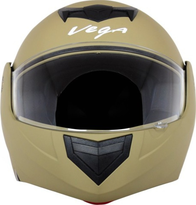 VEGA CRUX DX DULL DESERT STORM HELMET Motorbike Helmet(DESERT STORM)