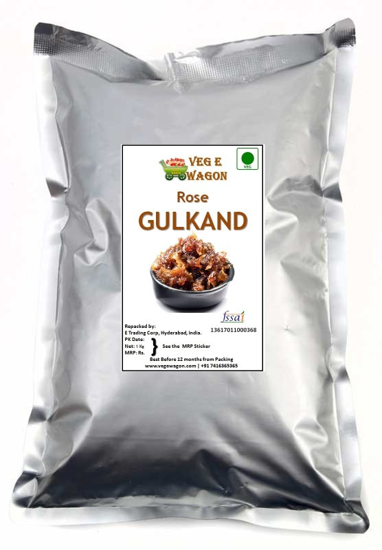Veg E Wagon Rose Gulkand 1000 gm 1000 g