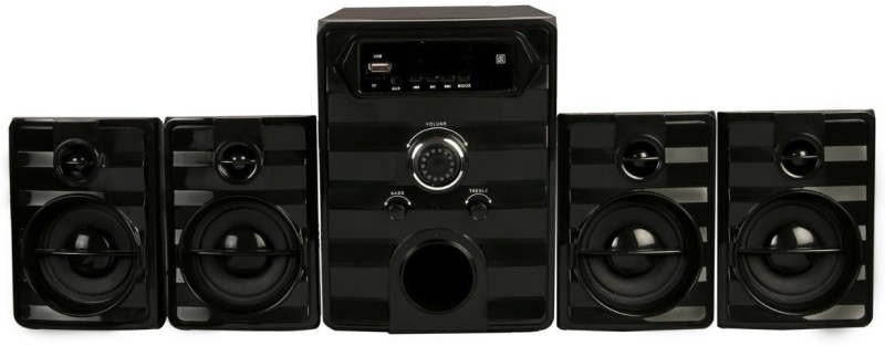 Flow Galaxy2 Multimedia 35 W Bluetooth Laptop/Desktop Speaker(Black, 4.1 Channel)