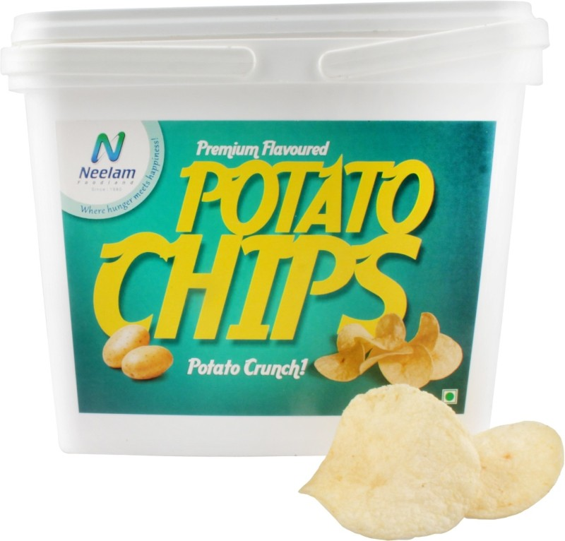 Neelam Foodland Box Pack Premium Flavoured Potato Chips, 200g Chips(200 g)