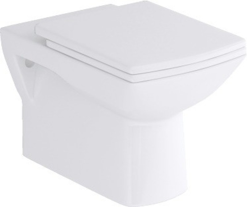 Hindware Wall Mounted Closet Torrin 92039SW Western Commode(StarWhite)