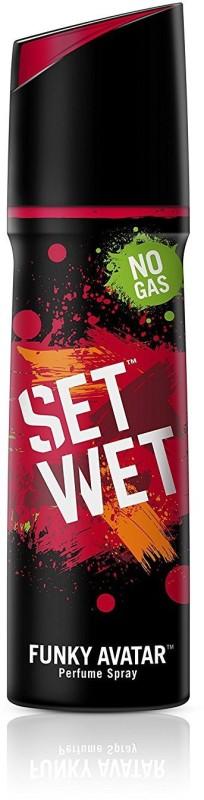 Set Wet Funky Avatar Perfume Body Spray - For Men(120 ml)