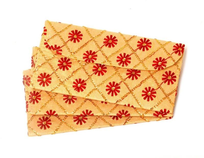 Kolorfish Envelopes(Pack of 3 Maroon, Multicolor)