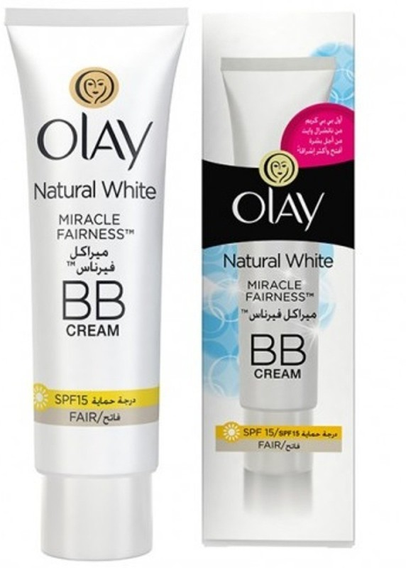 Olay Natural white Miracle Fairness BB Cream SPF 15(50 ml)