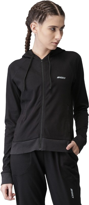 2GO Full Sleeve Solid Women Jacket