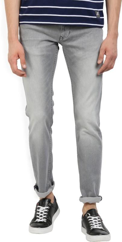 LP Jeans by Louis Philippe Slim Mens Grey Jeans