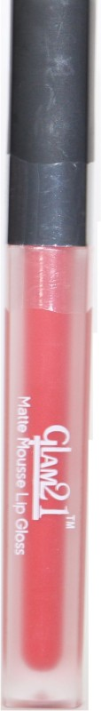 Glam 21 Awesme Lipgloss Red For-Women(5 g, Red)