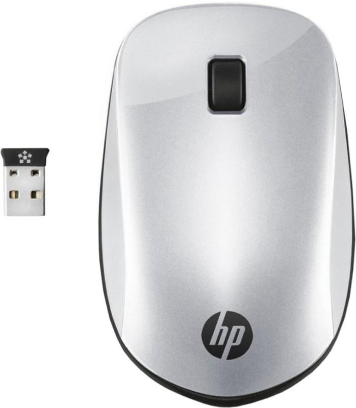 HP Z4000 Wireless Optical Mouse(2.4GHz Wireless, Pike Silver)