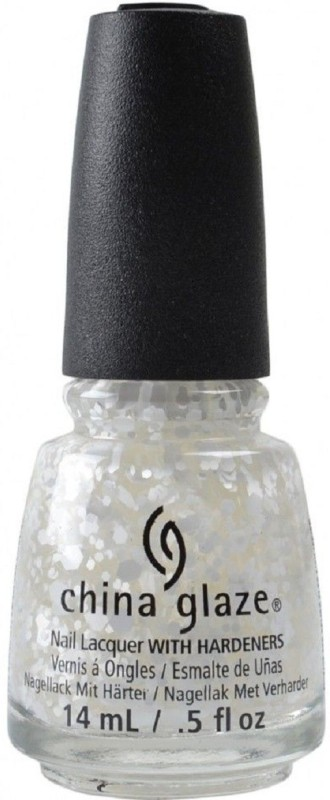 China Glaze New Twinkle Collection Chilling with my snow mies 81936 White(14 ml)