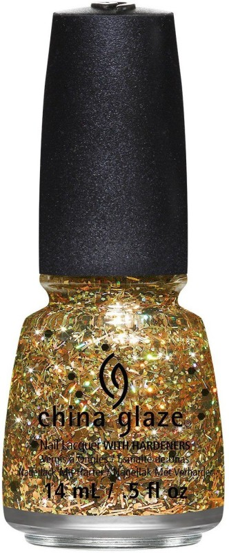 China Glaze New Apocalypse of Color Collection Rest in Pieces 82120 Gold(14 ml)