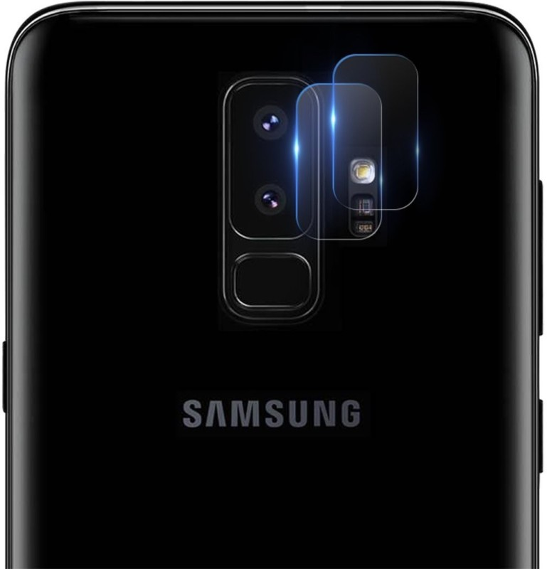 iBubble Tempered Glass Guard for Galaxy S9 plus Camera Lens Protector - Super Clear Ultra HD Camera Protection